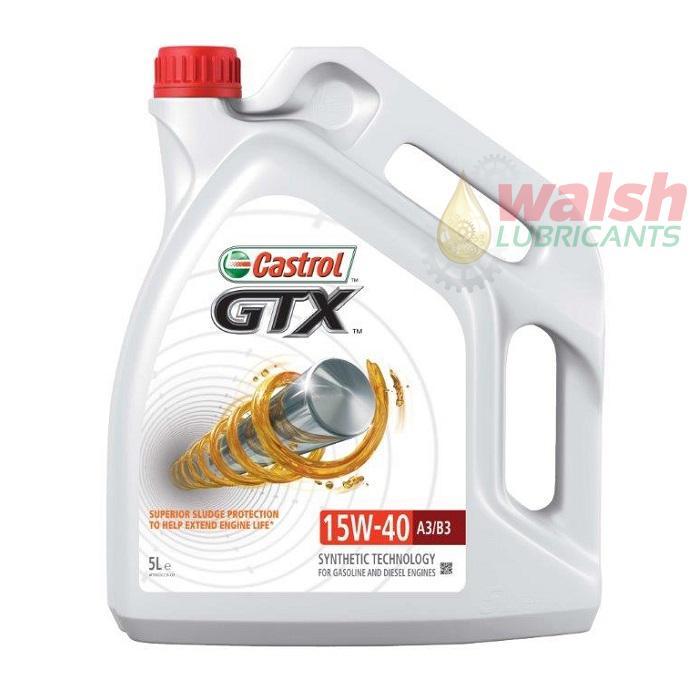CASTROL GTX 15W-40