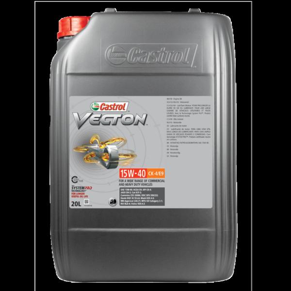 castrol vecton-15w-40-ck4-e9