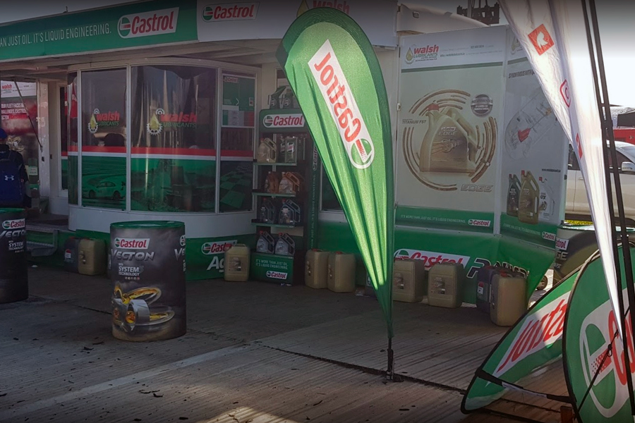 Walsh Lubricants Stand at Ploughing Championships 2019